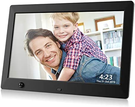 Dhwazz Digital Photo Frame 10 5 Inch USB IPS HD Electronic Picture Frames with Remote Control product image