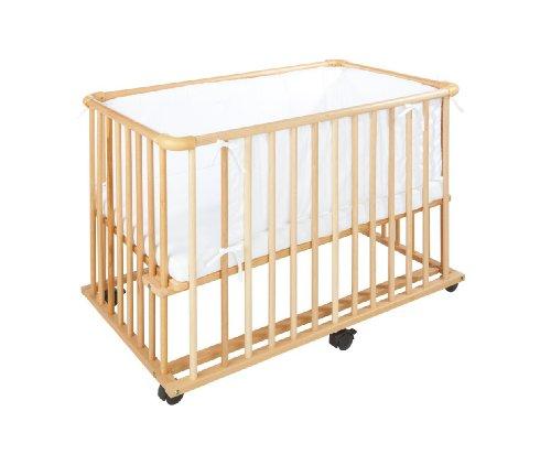 PINOLINO Umbauseitenteil für Anstellbettchen Bett-Zubehör, natur