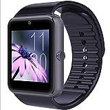 Smart Watch, Samsung Compatible Quad-Band Watch Desbloqueado para Hombres y Mujeres, Teléfono Móvil Pantalla táctil Fitness Tracker Pedómetro Sleep Monitor