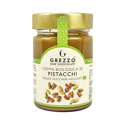 Crema biologica di PISTACCHI 100% di Grezzo Raw Chocolate (320g)