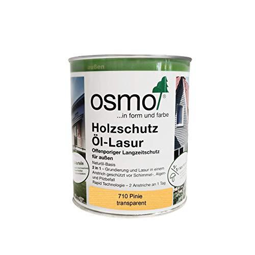 Osmo Holzschutz Öl - Lasur Öllasur transparent 0,75 l 710 Pinie