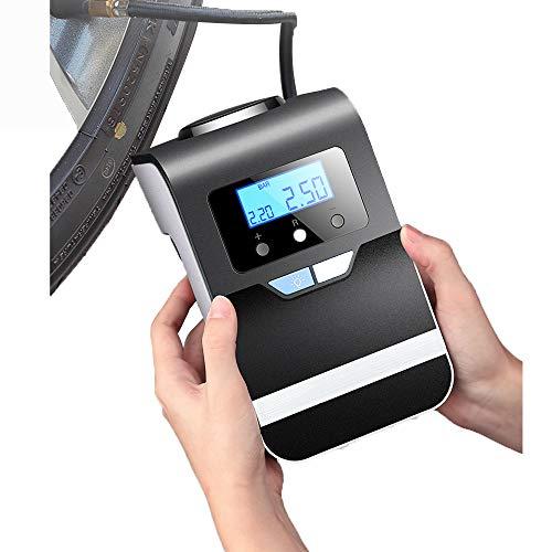 GYJ Draagbare Luchtcompressor Banden Pomp, Digitale Banden Inflator, Auto Pomp met LCD-scherm, zeer veilig, voor Auto's/Fietsbanden Andere Opblaasbare