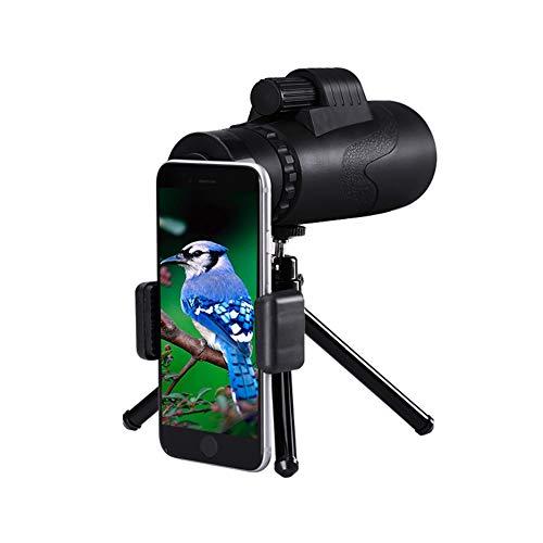 Mini Monoculaire Telescoop, Fanville 12x50 HD Waterdichte Telescopen Beste Waarde Vogelspotten en Wandelen Bereik Afstand Finder Voor Golf
