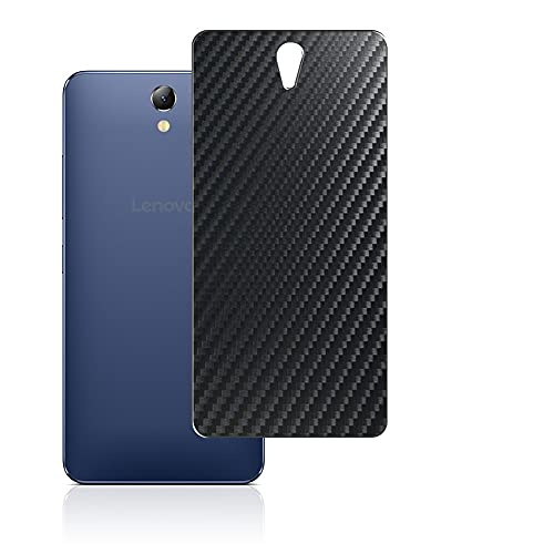 Vaxson 2-Pack Back Protector Film, compatible with Lenovo VIBE S1 Lite, Black Carbon Fiber Guard Cover Skin [Not Tempered Glass/Not Front Screen Protectors]