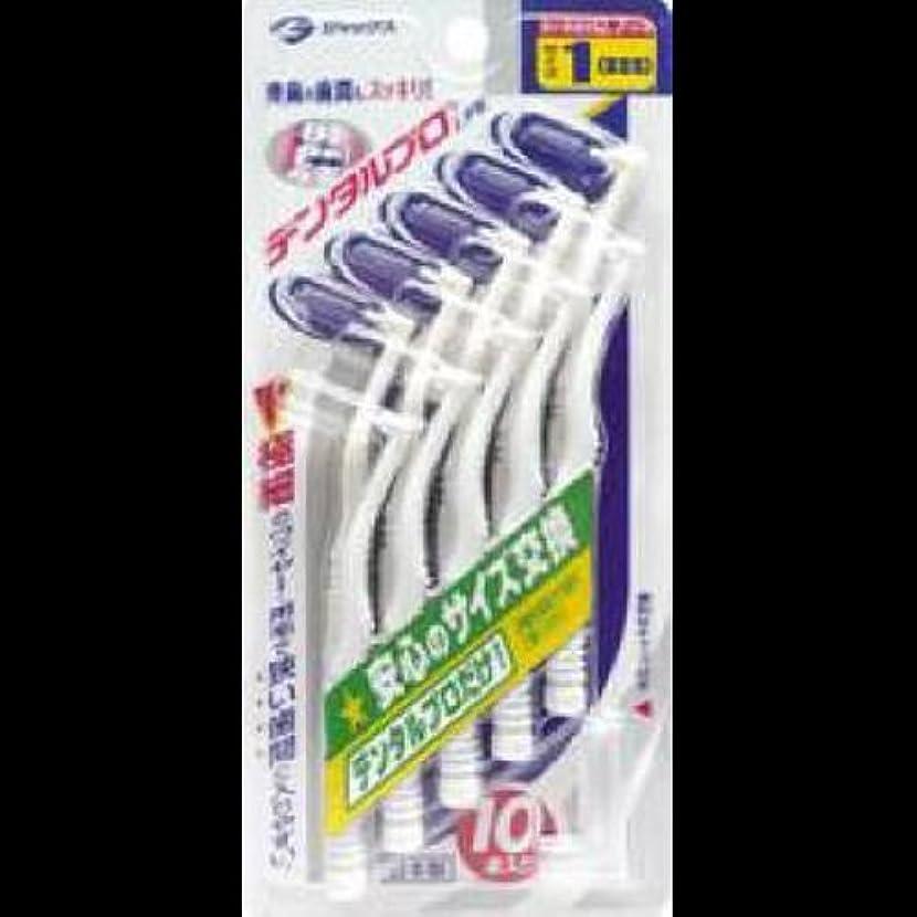 日食カウンタ啓示デンタルプロ 歯間ブラシL字型 1(SSS)サイズ 10本入 ×2セット