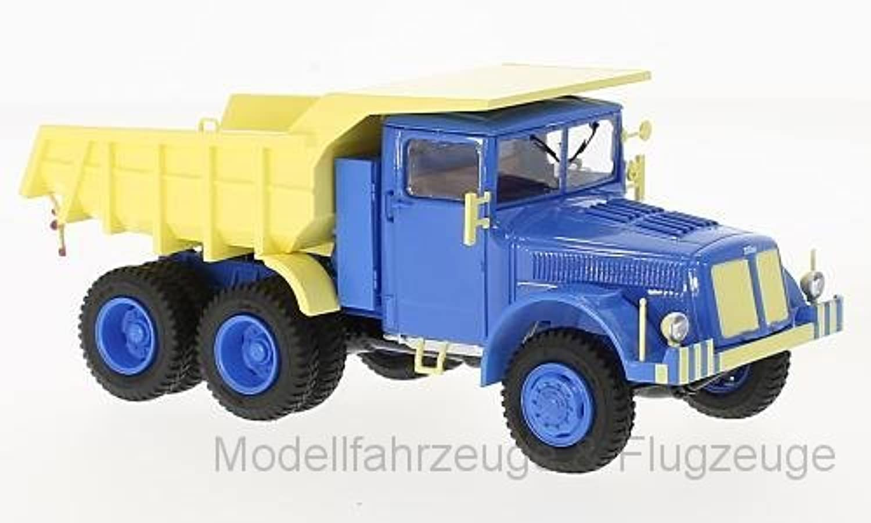 47035 Tatra 147 DC5, blau beige, 1 43 ,Premium Classixxs