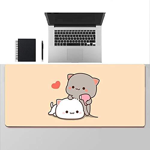 Large Cute Cartoon Pattern Mouse Pad Girl Xl Mousepad Rubber Laptop Desk Computer Mat Accessories 900X300X3Mm