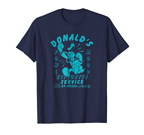 Disney Donald Duck Fowl Mood T-shirt