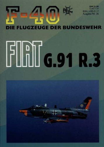 F-40 Flugzeuge der Bundeswehr Nr. 36 - FIAT G.91 R.3
