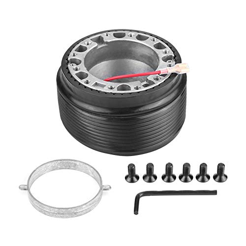 Lenkradnaben-Adapter-Aluminium 6-Loch-Loch Lenkrad Racing Hub Adapter für MAZDA 323 MIATA MX3 MX5 MX6