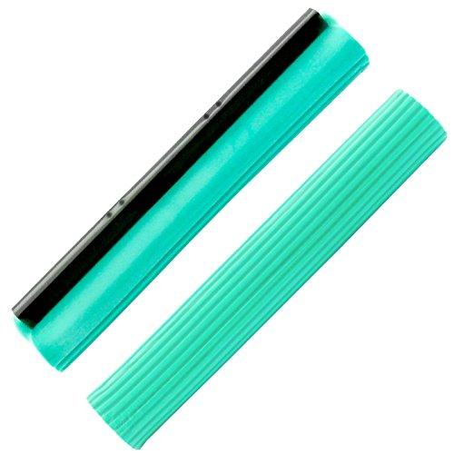 Green Mop Vervangende spons 40 cm voor Brestol Green Mop - Dubbele wringer mop absorberende wismop PVA vloerwisser
