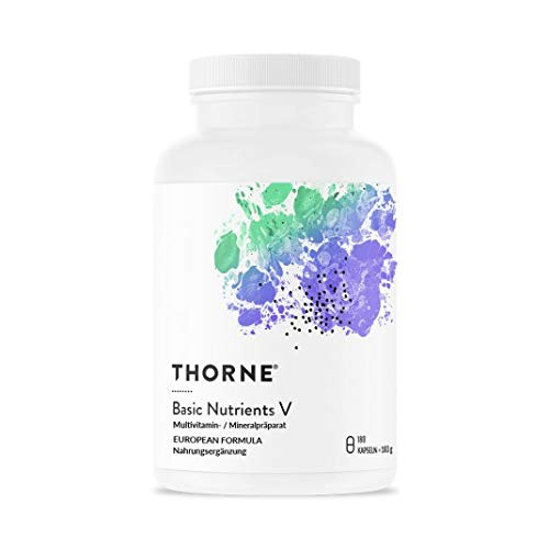Basic Nutrients VE EU-Formula 180 Kps von Thorne Research