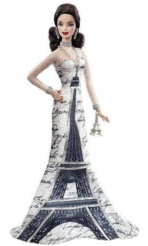 Barbie Collector Dolls of the World Eiffel Tower Doll by Barbie (English Manual)