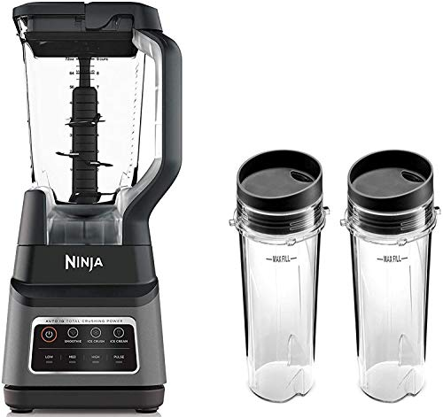 Professional Plus Blender with Auto-iQ (1400W Blender with Recipe Book & 2 ToGo Cups)