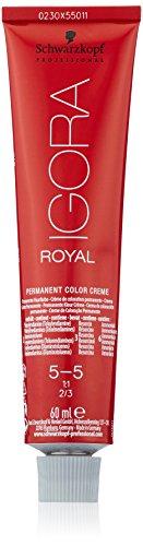 Schwarzkopf IGORA Royal Premium-Haarfarbe 5-5 hellbraun gold, 1er Pack (1 x 60 g)
