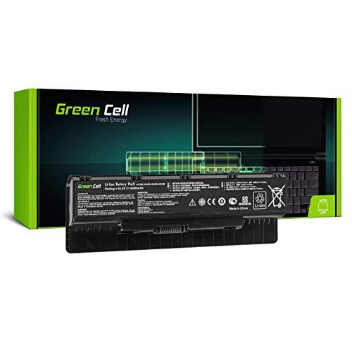 Green Cell Batería para ASUS N56EI N56J N56JK N56JN N56JR N56JR-S4013 N56JR-S4080H N56V N56VB N56VB-S4050H N56VJ N56VM N56VV N56VZ N56VZ-S4044V N56VZ-S4167V-16 Portátil (4400mAh 11.1V Negro)