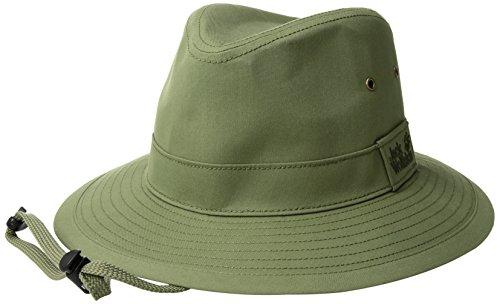 Jack Wolfskin EL Dorado Hut Kopfbedeckung, Größe L, Waldgrün