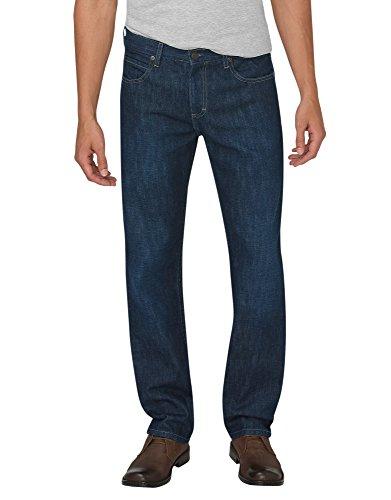 Dickies XD730HTI Jeans Básicos Casual para Hombre, color Hetitage Tinted Indigo, 32x32