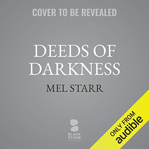 Deeds of Darkness audiobook cover art