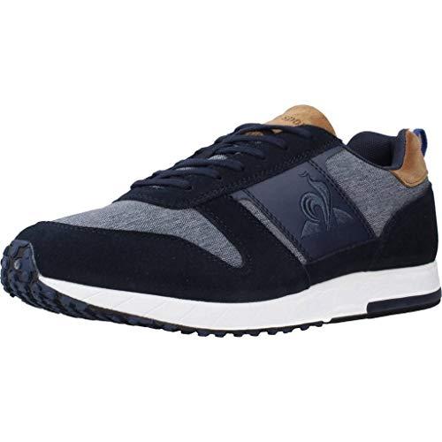 Le Coq Sportif Herren Jazy Classic Sneaker, Kleid Blau/Braun, 42 EU