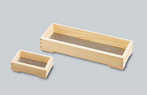 Boîte de Savon de Bain Maille en Acier Inoxydable Marchandises Wood