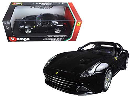 Maisto Ferrari California T (closed top) Black 1/18 Model Car by Bburago
