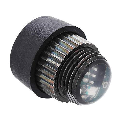 OKBY Luz De Visión De Arco - Hilo Compuesto De Luz De Visión Led De Arco 3 Niveles Color Violeta Ajustable 3/8-32 Hilo para Accesorio Al Aire Libre
