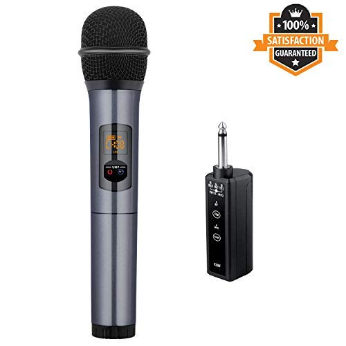 Kithouse K380F Wireless Microphone Karaoke Microphone...