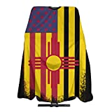 USA New Mexico Mix Flag USA New Jersey Mix Flag Salon Hair Cutting Cape Cloth Barber Hairdressing Wrap Haircut Apron Cloth