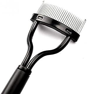 Winbang Pettine ciglia, 1pc pettine del ciglio sferza separatore Sollevare Curl spazzola del metallo di bellezza attrezzo ...