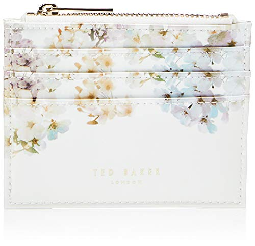 Ted Baker Women's 0 Travel Accessory-Envelope Card Holder, Ivory, us:one Size