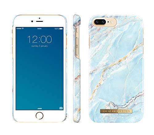 iDeal Of Sweden Island Paradise - Funda para iPhone 8 Plus / 7 Plus / 6 Plus / 6s Plus, mármol