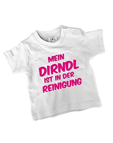 Jayess Mein Dirndl IST IN DER Reinigung | Baby - Kids- T-Shirt in Weiss by Kids Gr. 80/86
