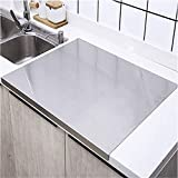 Cutting Boards, Extra Large Stainless Steel Chopping Board, Baking Board, Heavy Cutting Board For Kitchen,Pastry Board For Meat,Vegetables, Bread, Cutting Mats ( Size : 50X40cm )