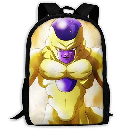 shenguang Frieza Adult Travel Backpack Fits 15.6 Inch Laptop Backpacks School College Bag Casual Rucksack for Men & Women