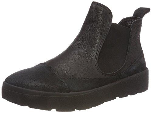 Think! Damen DRUNTA_383090 Chelsea Boots, Schwarz (09 Sz/Kombi), 42 EU