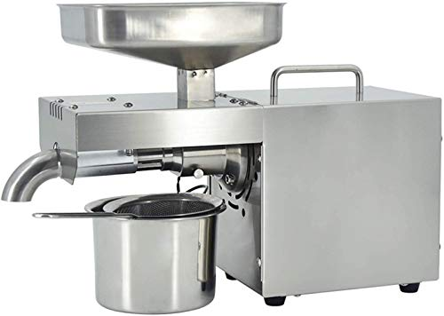 Automatic Cold Oil Press Machine, Stainless Steel Household Oil Extractor Peanut Coconut Sesame Seed Oil Maker