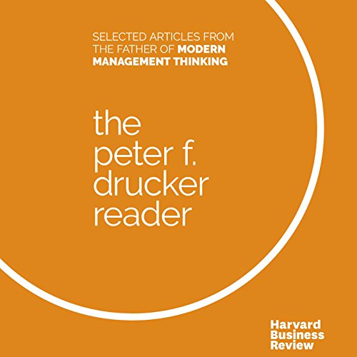 The Peter F. Drucker Reader audiobook cover art