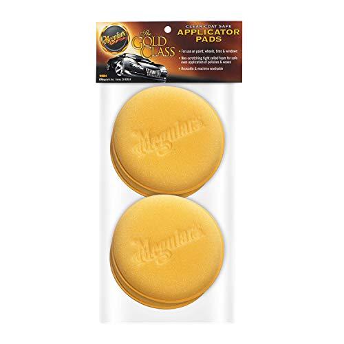 """Meguiar's W0004 Supreme Shine 4"""" Foam Applicator Pads, 4 Pack"""
