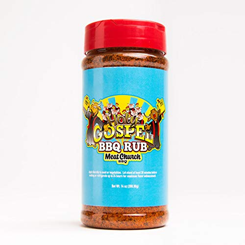 Meat Church Holy Gospel BBQ Rub 14oz Shaker