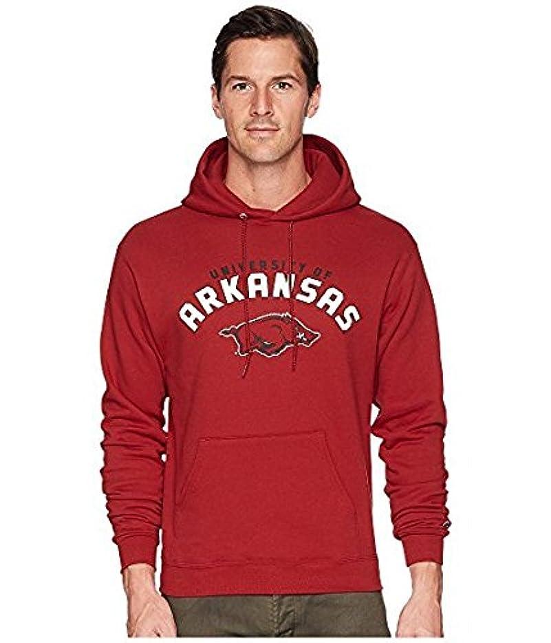魅了するロッド飽和するチャンピオンカレッジ Champion College メンズ パーカー スウェット Cardinal Arkansas Razorbacks Eco Powerblend Hoodie 2 [並行輸入品]
