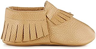 Babe Basics Baby Moccasins | Genuine Leather Moccasins for Babies and Toddlers