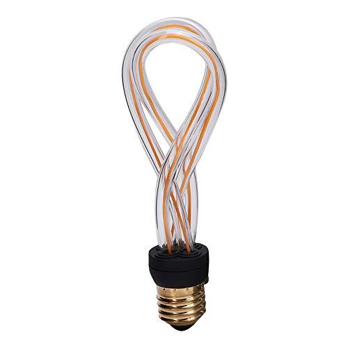 Zerodis Bombilla LED E27, lámpara de filamento única, Luces cálidas, Bombilla halógena, emisor de Calor para Reptiles, lámparas calefactoras para Mascotas, Lagarto, dragón Barbudo, Tortuga, Serpiente