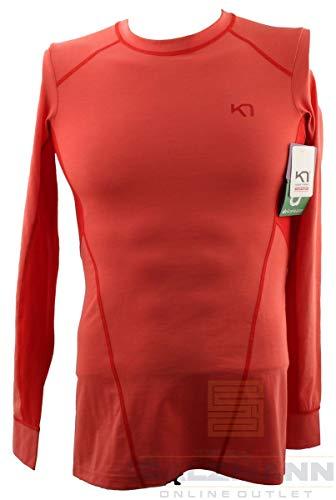 Kari Traa Svala LS T-shirt pour femme Taille M Orange