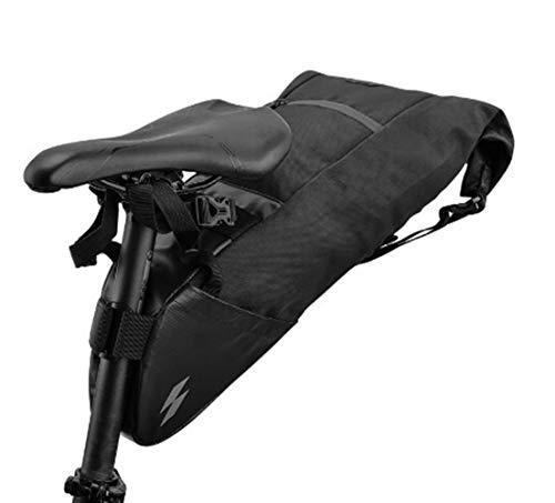 Bolsa Sillin Bicicleta Paquete Trasera de Bicicletas Tija de sillín Bolsa de Montar de la Bici del almacenaje del Asiento Nier Ciclo MTB Carretera estanco Extensible Bolsas para Sillines