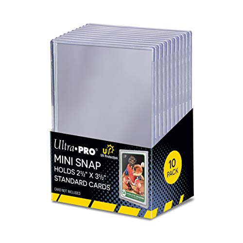 Ultra Pro UV Mini Snap Card Holder (10ct Pack)