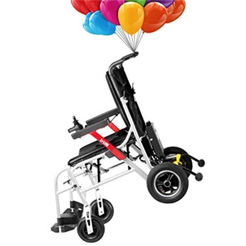 SCJ Mobiler Rollstuhl Älterer Intelligenter, automatisch zusammenklappbarer Roller aus Magnesium-Aluminiumlegierung mit Behinderung