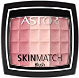 Astor SkinMatch Blush Colorete Tono 1 Rosy Pink, 8.25 g