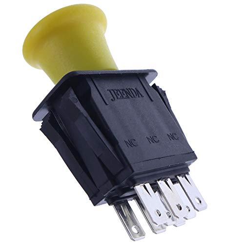 JEENDA PTO Switch Replaces 430-330 103-5221 Exmark Grasshopper 183925 JD AM131966 Toro 1-633673 Everride 136574 Delta 6201-342 ZTR Mowers