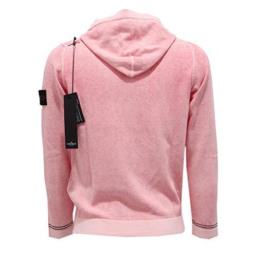 Stone Island 2305AB Felpa Bimbo BOY Junior red/Pink Hoodie Sweatshirt [8 Years]